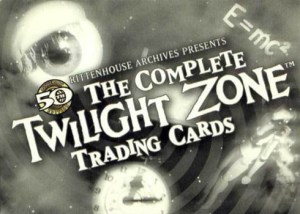 2009 Complete Twilight Zone 50th Anniversary Promo Card P2