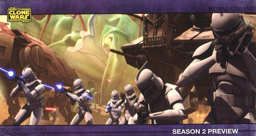 2009 Star Wars Clone Wars Widevision Season 2 Preview