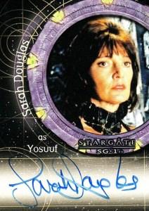 2009 Stargate Heroes Autographs A113 Sarah Douglas