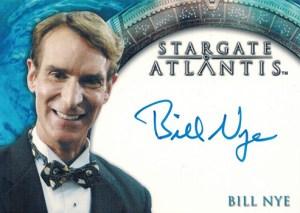 2009 Stargate Heroes Autographs Bill Nye