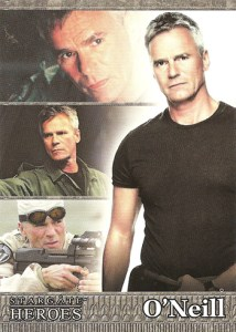 2009 Stargate Heroes Promo Card P1