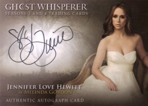 2010 Ghost Whisperer Seasons 3 and 4 SDCC Autograph Jennifer Love Hewitt