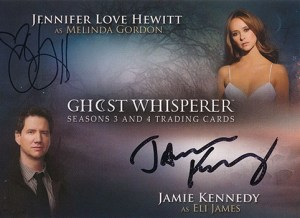 2010 GhostWhisperer Seasons 3 and 4 Dual Autographs Hewitt Kennedy