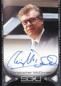 2010 Stargate Universe Season 1 Christopher McDonald