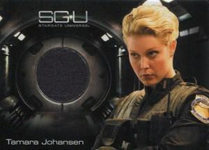2010 Stargate Universe Season 1 Costume Cards Tamara Johansen
