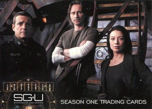2010 Stargate Universe Season 1 Promo Card P1