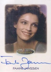 2010 Women of Star Trek Autographs Famke Janssen