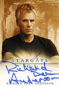 2011 Stargate Universe Season 2 Autographs SG-1 Richard Dean Anderson