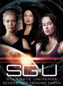2011 Stargate Universe Season 2 Promo Card P1