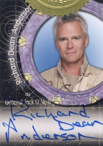 2012 Stargate SG-1 Autographs Expansion A70 Richard Dean Anderson