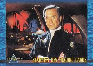 1993 Seaquest DSV Promo Card S1