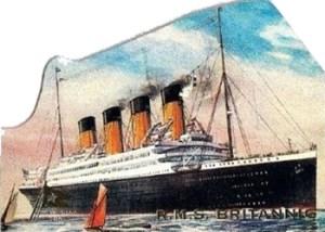 1998 Titanic Die-Cut