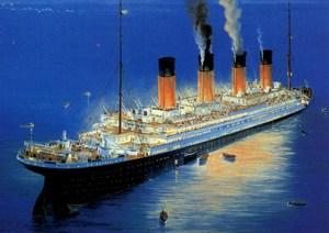 1998 Titanic Promo Card