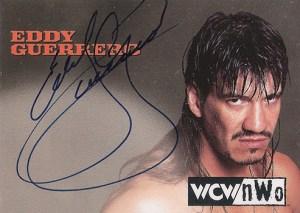 1998 Topps WCW NWO Autographs Eddy Guerrero