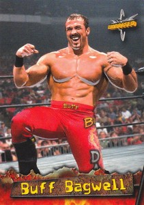 1999 Topps WCW Embossed Promo Card P1 Buff Bagwell