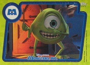 2001 Monsters Inc Puzzle