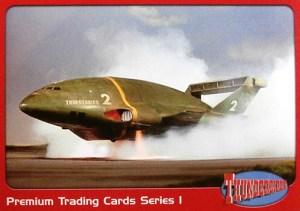 2001 Thunderbirds Premium Promo Card P3