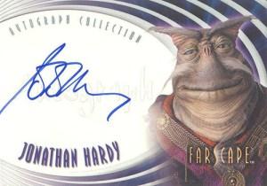 2002 Farscape Season 3 Autographs A15 Jonathan Hardy