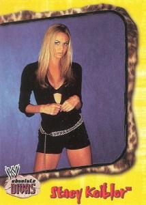 2002 Fleer WWE Absolute Divas Base Stacy Keibler
