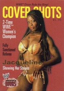 2002 Fleer WWE Absolute Divas Cover Shots Jacqueline