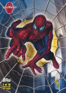 2002 Spider-Man Spider Sense Glow Stickers
