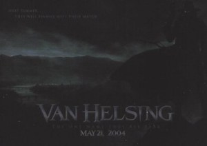 2004 Van Helsing Silver Foil