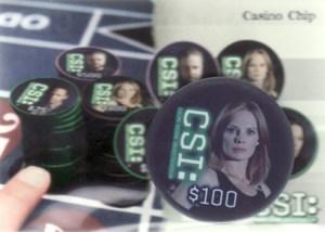 2006 CSI Series 3 Casino Chip