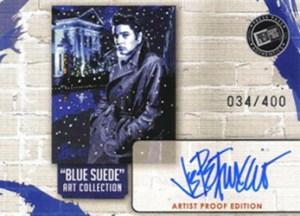 2006 Elvis Lives Artist Proof Autograph