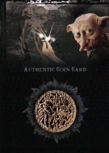 2006 Harry Potter Memorable Moments Coin Card Gold
