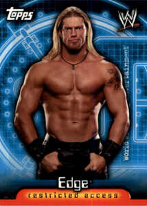 2006 Topps WWE Insider Base Edge