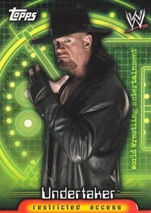 2006 Topps WWE Insider Promo Card P1 Undertaker