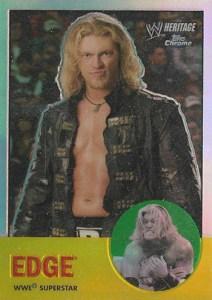 2007 Topps WWE Heritage Chrome II Refractor