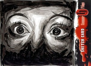 2008 Hammer Horror Sketch Card