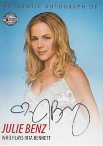 2009 Dexter Seasons 1 and 2 Autographs DA2 Julie Benz
