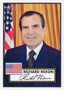 2009 Topps American Heritage American Presidents Richard Nixon