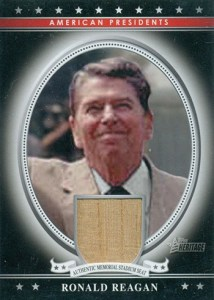 2009 Topps American Heritage Presidential Relics