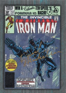 2013 Iron Man 3 Comic Creator Autograph