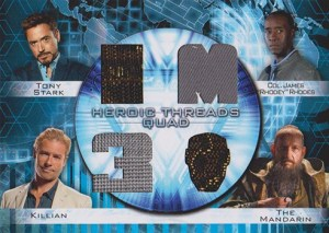 2013 Iron Man 3 Heroic Threads Quad