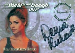 1999 World Is Not Enough Autographs Denis Richards