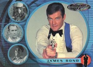 2002 James Bond 40th Anniversary Promo Card