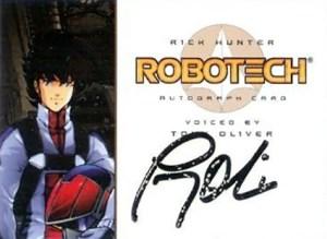 2002 Robotech Autographs A1
