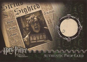 2004 Harry Potter and the POA Update Prop Card Daily Prophet