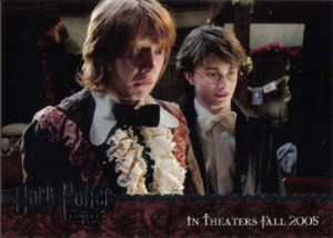 2005 Harry Potter and the GOF Promo Card