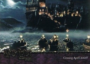2005 Artbox Harry Potter and the Sorcerers Stone Promo Card