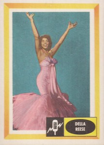 1960 Fleer Spins and Needles 1 Della Reese