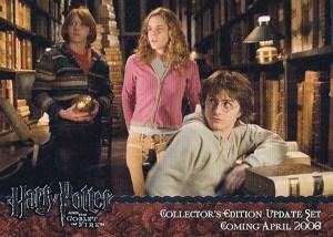 2006 Harry Potter GOF Update Promo
