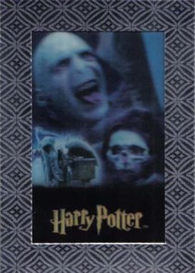 2007 World of Harry Potter 3-D Ultra Rare
