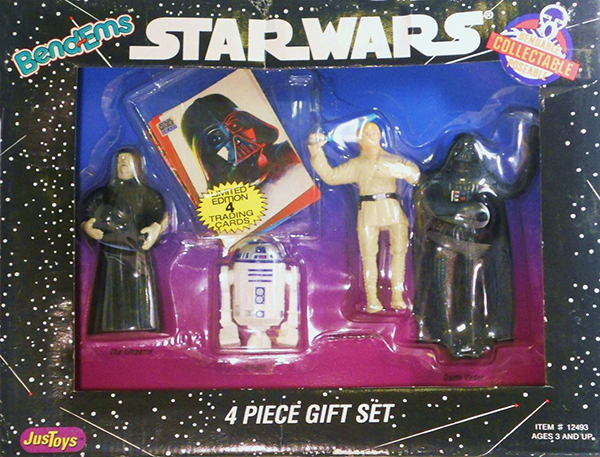 Just Toys Star Wars Bend-Ems Four Pack