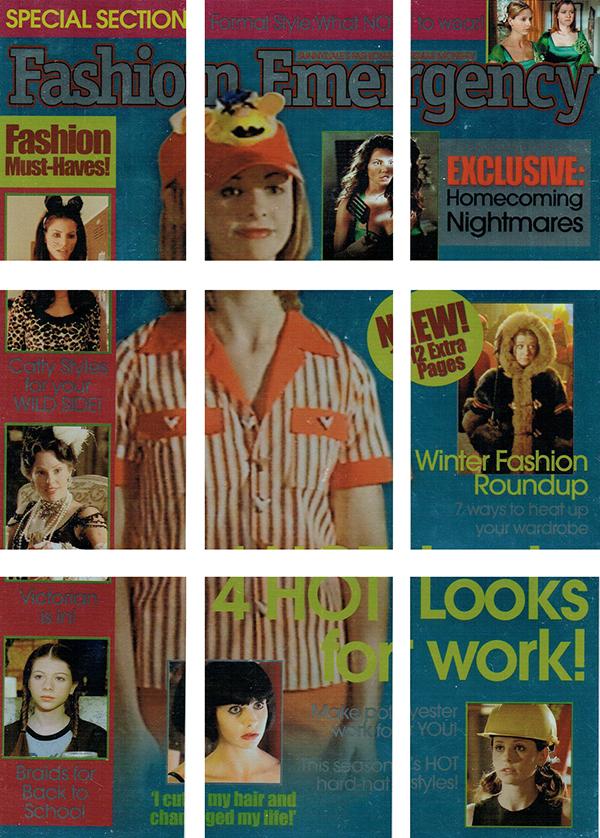 2004 Buffy and the Women of Sunnydale Fashion Emergency
