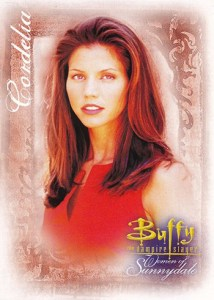 2004 Buffy and the Women of Sunnydale Promo Card WOS-GG